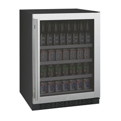 "Allavino 24"" Wide FlexCount II Tru-Vino Stainless Steel Beverage Center"
