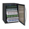 "Image of Allavino 24"" Wide FlexCount II Tru-Vino Stainless Steel Beverage Center"