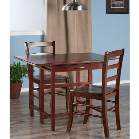 Winsome Taylor 3-PC Set Drop Leaf Table with Chairs