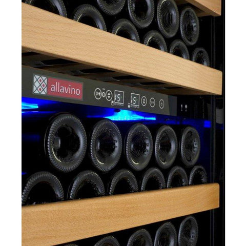 Allavino 99 Bottle Dual Zone Right Hinge Wine Refrigerator