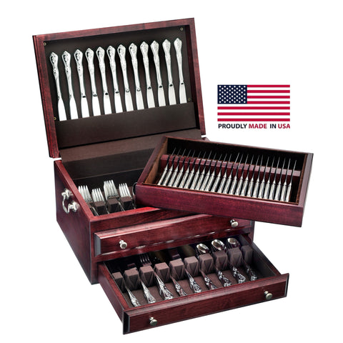 American Chest Presidential Super Flatware Chest