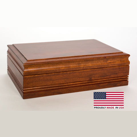 American Chest 50 Count Amish Cigar Humidor