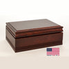 Image of American Chest 75 Count Amish Cigar Humidor