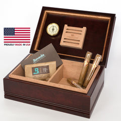 American Chest 75 Count Amish Cigar Humidor