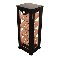 Quality Importers, Humidor HUM-DIS7 Counter Top Display Mahogany, Humidor - Humidor Enthusiast