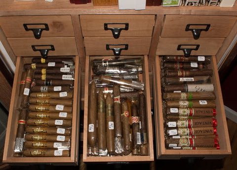 The Madison Display Cabinet Humidor