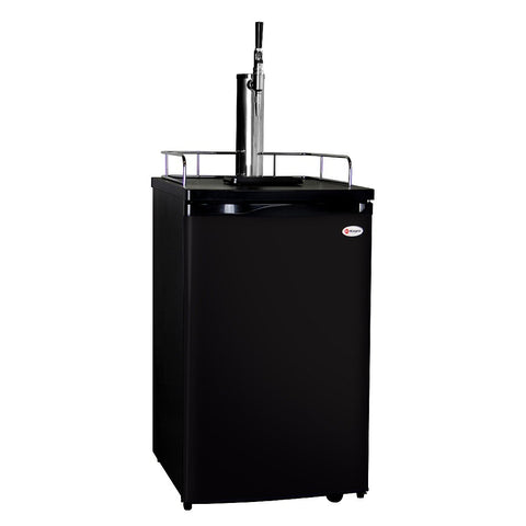 Kegco K199B-G Guinness® Dispensing Kegerator with Black Cabinet and Door5
