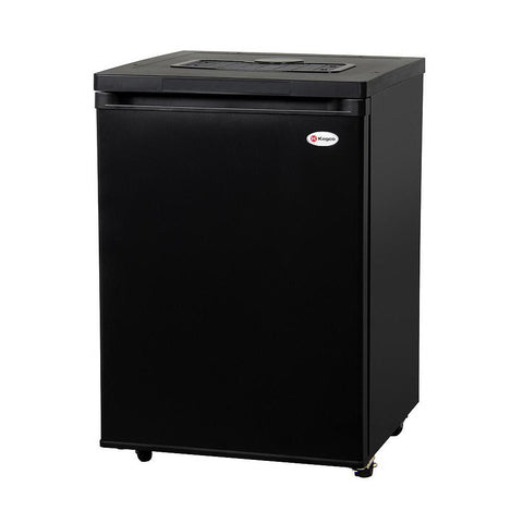 Kegco MDK-209B-01 Full Size Kegerator - Black Cabinet with Matte Black Door - No Kit, Cabinet Only