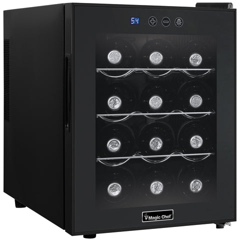 Magic Chef 12-Bottle Countertop Wine Cooler MCWC12B