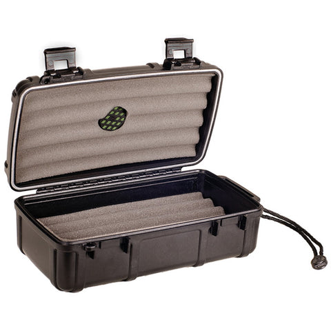 Cigar Caddy, Prestige Import Group Cigar Caddy 10 Plastic Travel Humidor, Humidor - Humidor Enthusiast