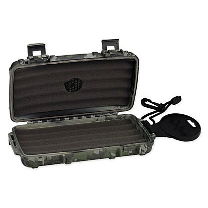 Cigar Caddy, Prestige Import Group Cigar Caddy 5 Plastic Travel Humidor, Humidor - Humidor Enthusiast