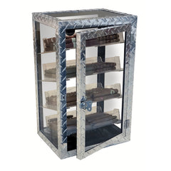 Diamond Plate Display Humidor by Prestige Import Group