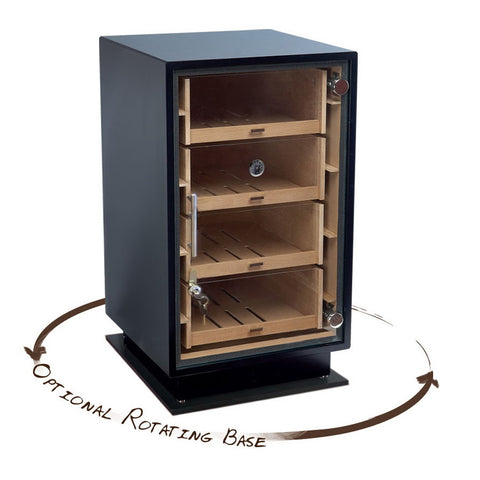 Prestige Import Group, Rotating Base in Black for 'The Manchester' Humidor, Humidor - Humidor Enthusiast