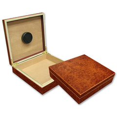The Chateau 20 Cigar Humidor w/ Humidifier by Prestige Import Group