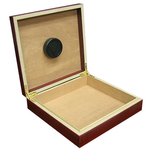 Prestige Import Group, Prestige Import Group 'Chateau' 20 Cigar Humidor w/ Humidifier, Humidor - Humidor Enthusiast