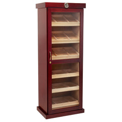Wooden Tower Cabinet Humidor 'The Columbus' - 2,000 Cigar Capacity