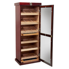 The Barbatus Wooden Cabinet Humidor by Prestige Import Group