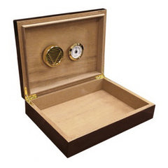 The Bellevue Dark Walnut Lacquer Humidor by Prestige Import Group