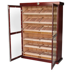The Bermuda Large Display Cabinet Humidor by Prestige Import Group