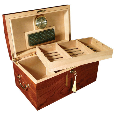Prestige Import Group, Prestige Import Group 'The Broadway' Gloss Lacquer Humidor, Humidor - Humidor Enthusiast