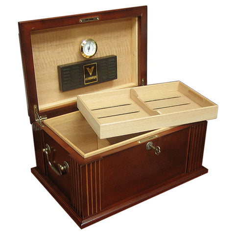 Prestige Import Group, Prestige Import Group 'The Caesar' Antique Cigar Humidor, Humidor - Humidor Enthusiast