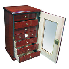 The Charleston Desktop Humidor with Drawers by Prestige Import Group