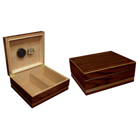 Prestige Import Group, Prestige Import Group 'The Duke' Routed Edge Humidor, Humidor - Humidor Enthusiast