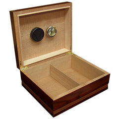 The Duke Routed Edge Humidor by Prestige Import Group