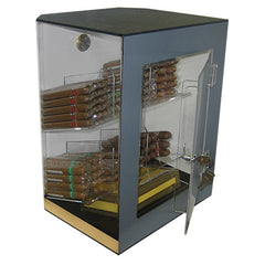 The Franklin Acrylic Display Humidor 6 Bins by Prestige Import Group