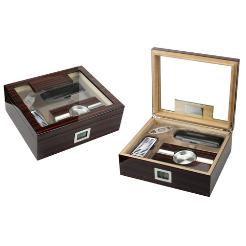 Prestige Import Group, Prestige Import Group 'The Kensington' Humidor Gift Set, Humidor Set - Humidor Enthusiast