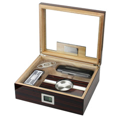 The Kensington Humidor Gift Set by Prestige Import Group