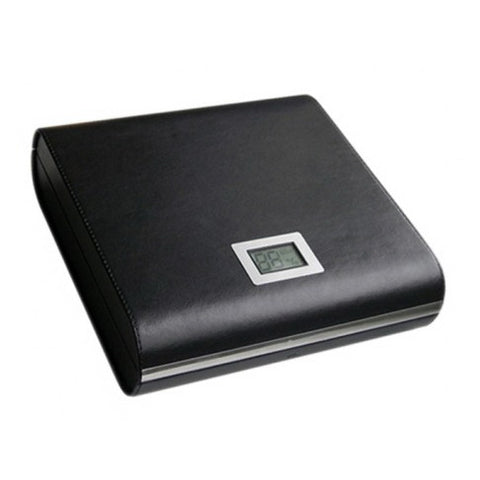 Prestige Import Group, Prestige Import Group 'The Marquis' Black Leather Travel Humidor, Humidor - Humidor Enthusiast