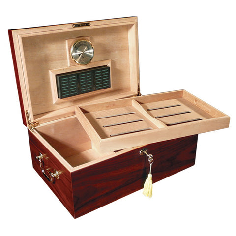 Prestige Import Group, Prestige Import Group 'The Monte Carlo' Cherry Humidor, Humidor - Humidor Enthusiast
