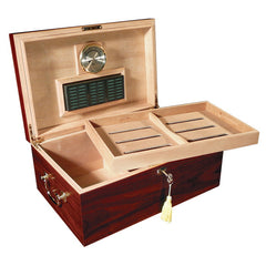 The Monte Carlo Cherry Humidor by Prestige Import Group