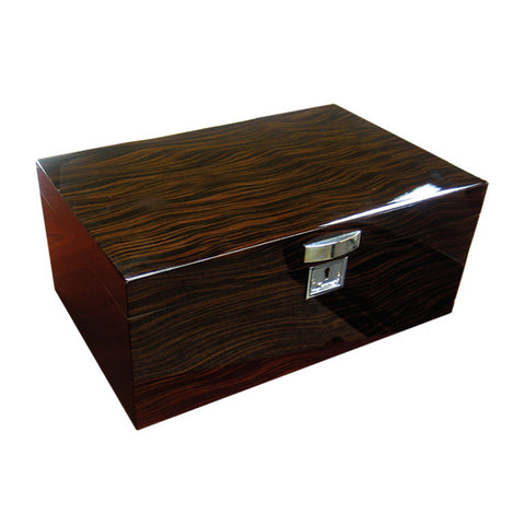 Prestige Import Group, Prestige Import Group 'The Princeton' Ebony or Bubinga Desktop Humidor, Humidor - Humidor Enthusiast