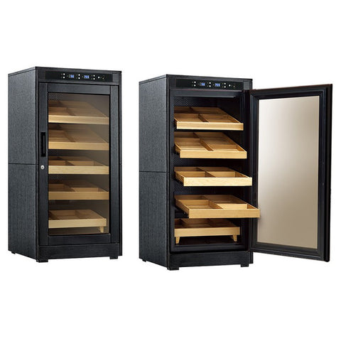 Prestige Import Group, Prestige Import Group 'The Redford Lite' Electric Cabinet Humidor, Humidor - Humidor Enthusiast