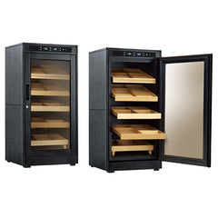 The Redford Lite Electric Cabinet Humidor by Prestige Import Group