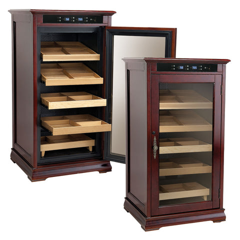 Prestige Import Group, Prestige Import Group 'The Redford' Electronic Cabinet Humidor, Humidor - Humidor Enthusiast