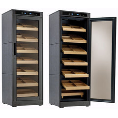 The Remington Lite Electric Cabinet Humidor by Prestige Import Group