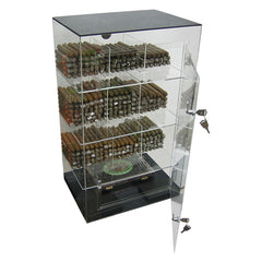 The Roosevelt Acrylic Display Humidor 9 Bins by Prestige Import Group