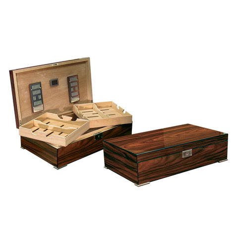 Prestige Import Group, Prestige Import Group 'The Salvador' Humidor in Brazilian Rosewood, Humidor - Humidor Enthusiast