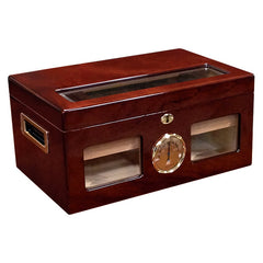 Prestige Import Group, Prestige Import Group 'The Valencia' High Gloss Cherry Humidor, Humidor - Humidor Enthusiast