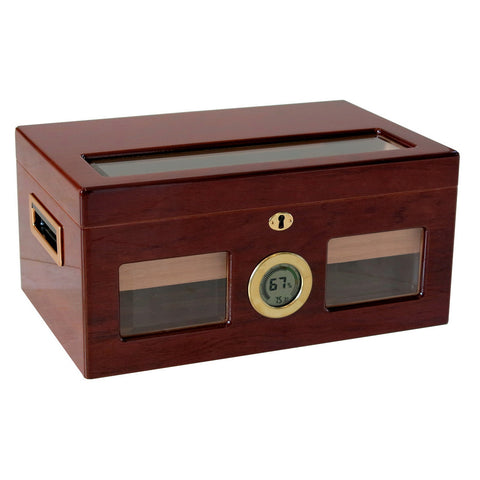 Prestige Import Group, Prestige Import Group 'The Valencia Digital' Lacquer Humidor, Humidor - Humidor Enthusiast