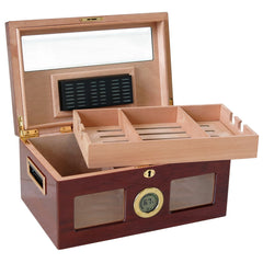 The Valencia Digital Lacquer Humidor by Prestige Import Group