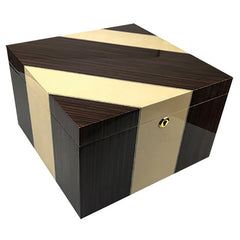 Prestige Import Group, Prestige Import Group 'Viceroy' Iron Wood High Lacquer Finish, Humidor - Humidor Enthusiast