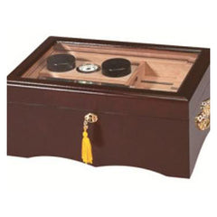 Quality Importers El Rey Glass Top Humidor