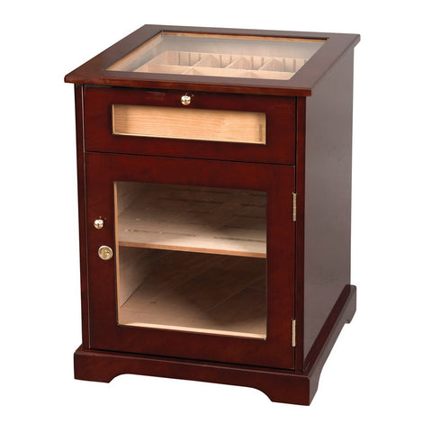 Quality Importers, Quality Importers Galleria Table Humidor, Humidor - Humidor Enthusiast