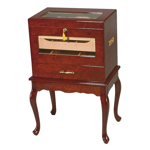 Quality Importers Geneve Table Humidor