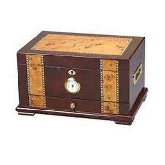 Quality Importers, Quality Importers Solana Desktop Humidor, Humidor - Humidor Enthusiast