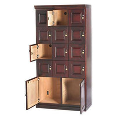 Humidor Cigar Locker Wall Cabinet by Quality Importers